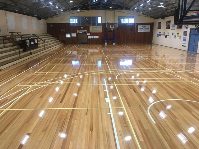 Basketball Stadium internal view
